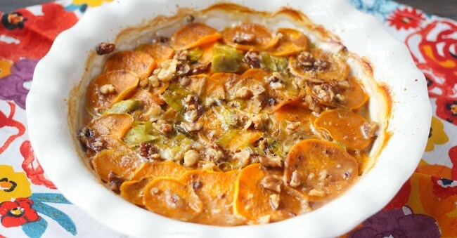 vegan sweet potato casserole recipe