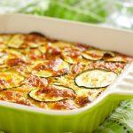 gluten free zucchini cheese casserole