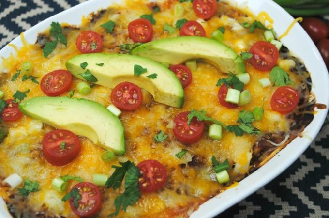 easy beef enchilada casserole recipe