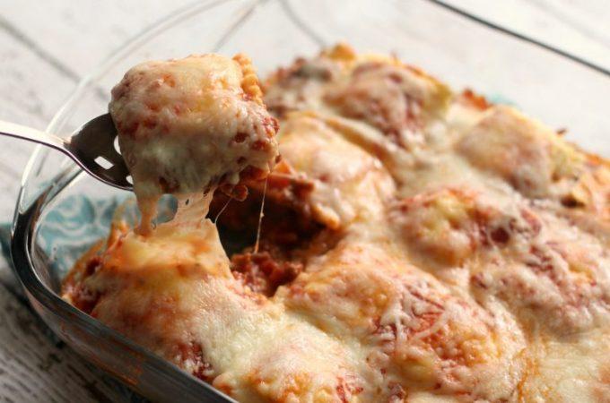 lazy lasagna casserole