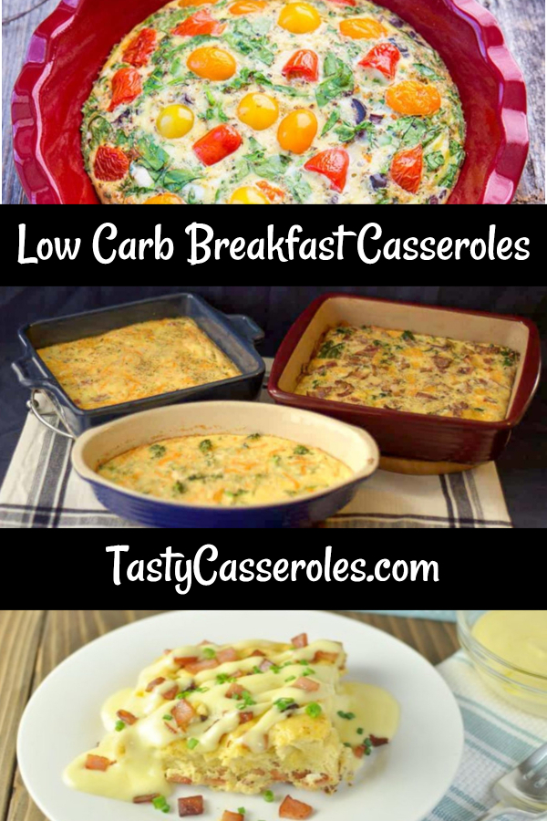 low carb breakfast casserole recipes