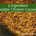 cheddar cheesechicken casserole
