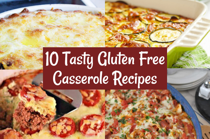 easy gluten free casserole recipes