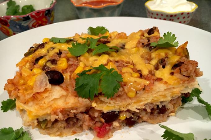 gluten free mexican casserole
