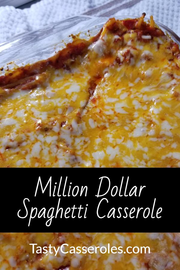 million dollar spaghetti bake