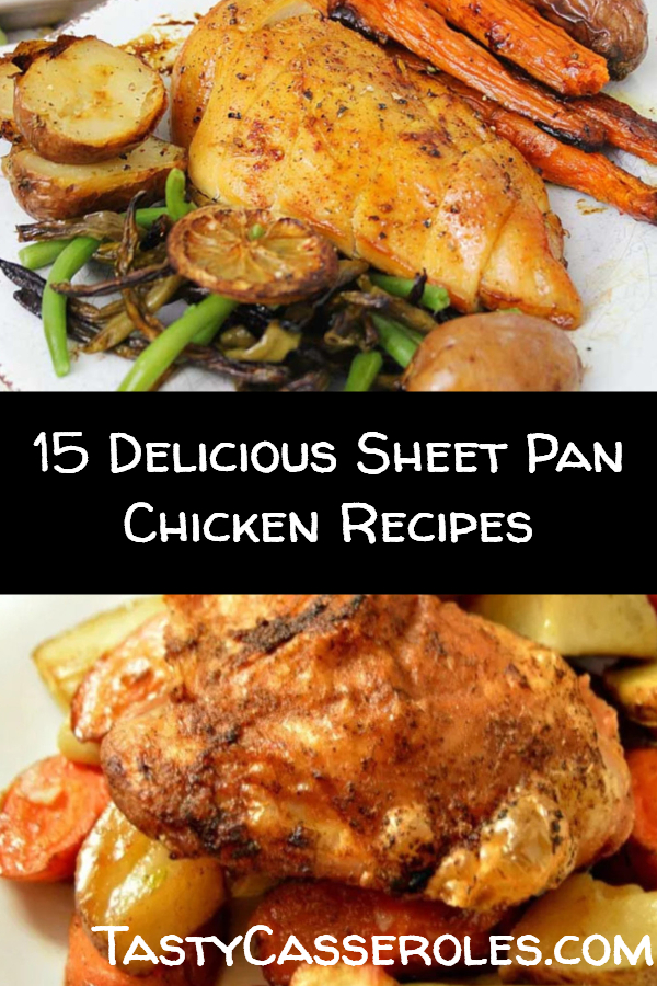 sheet pan chicken recipes